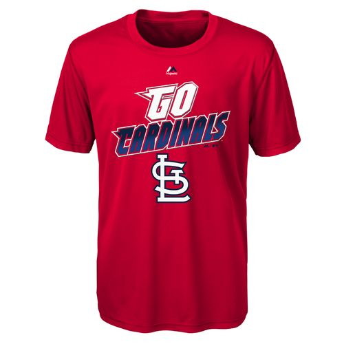 MLB Boys' St. Louis Cardinals Loud Speaker T-shirt