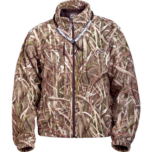 Drake Men's MST Advantage Max-4 HD Camo Fleece Pullover | Academy