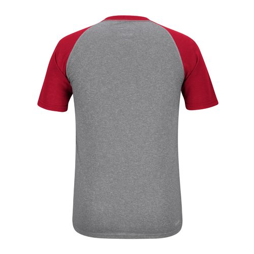 adidas Men's University of Louisville Throwback Raglan T-shirt - view number 2