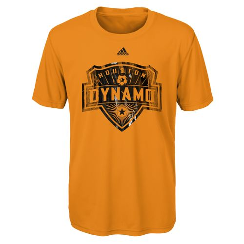 adidas Boys' Houston Dynamo War Paint Logo climalite T-shirt