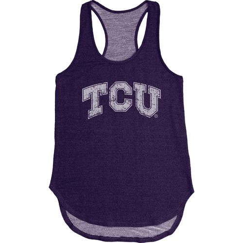Blue 84 Women's Texas Christian University Nala Premium Terry Tank Top