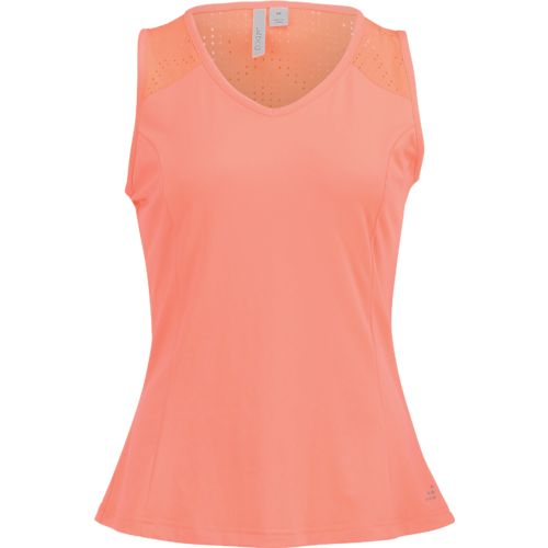 BCG Women's Club Sports Laser Cut Tank Top