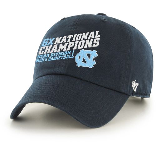 '47 Men's University of North Carolina 2017 NCAA Men's 6X National Champions Clean Up Ca