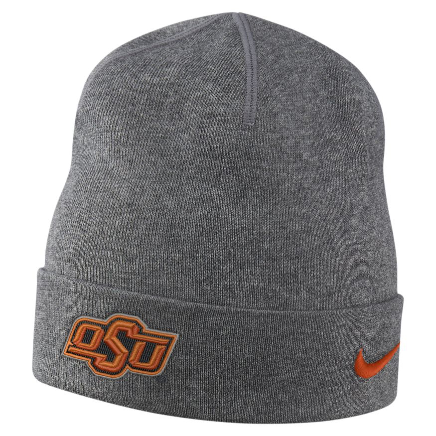 Nike™ Men's Oklahoma State University Dri-FIT Cuff Beanie