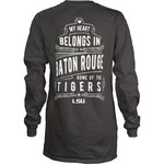 Three Squared Juniors' Louisiana State University Tower Long Sleeve T-shirt - view number 1