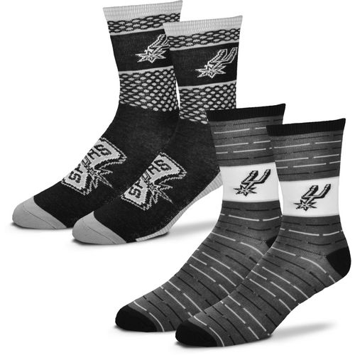 For Bare Feet Men's San Antonio Spurs Father's Day Socks - view number 1