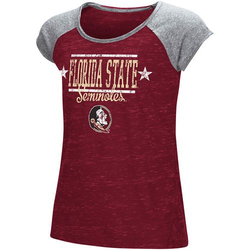Colosseum Athletics Girls' Florida State University Sprints T-shirt