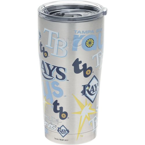 Tervis Tampa Bay Rays 20 oz All Over Stainless-Steel Tumbler - view number 1