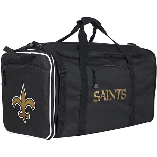 The Northwest Company New Orleans Saints Steel Duffel Bag
