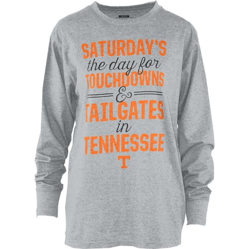 Three Squared Juniors' University of Tennessee Touchdowns and Tailgates T-shirt
