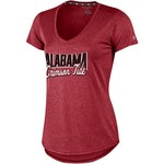 Champion Women's University of Alabama Font Script V-neck T-shirt - view number 1