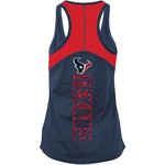 5th & Ocean Clothing Women's Houston Texans Glitter Tank Top - view number 2