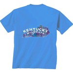 New World Graphics Women's University of Kentucky Comfort Color Puff Arch T-shirt - view number 1