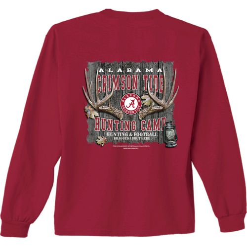 New World Graphics Men's University of Alabama Hunt Long Sleeve T-shirt