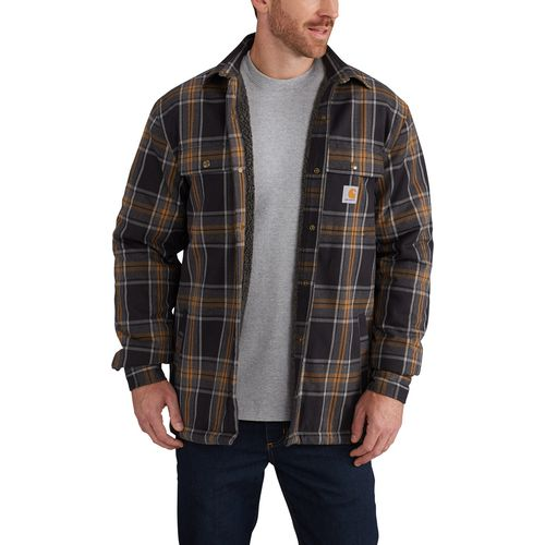 Carhartt Men's Hubbard Sherpa Lined Shirt Jac - view number 4
