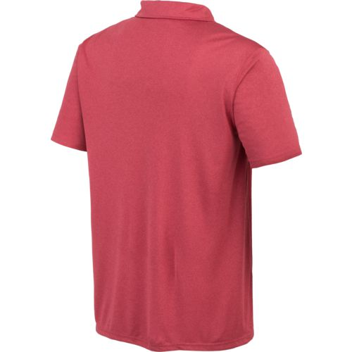 Colosseum Athletics™ Men's University of Alabama Academy Axis Polo Shirt - view number 2