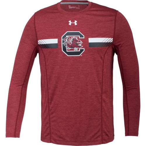 Under Armour Men's University of South Carolina Sideline Long Sleeve Training T-shirt