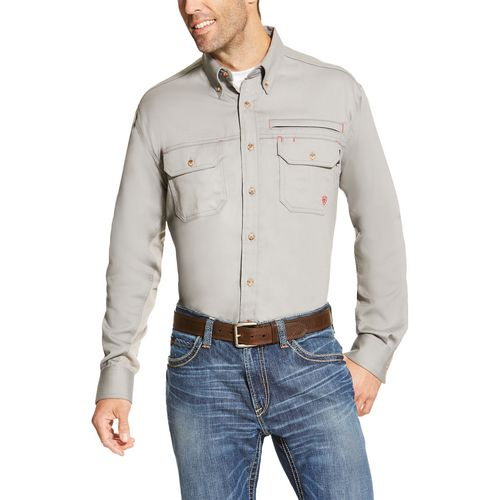 Ariat Men's FR Solid Vent Shirt