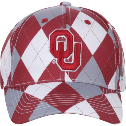 Top of the World Men's University of Oklahoma Out Loud 3-Tone Cap