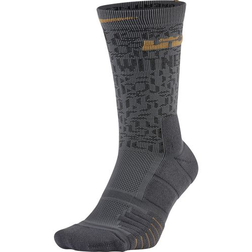 Nike Men's LeBron Elite Quick Crew Basketball Socks