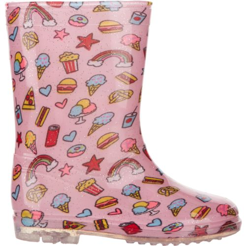 Austin Trading Co. Girls' PVC Sweets Boots
