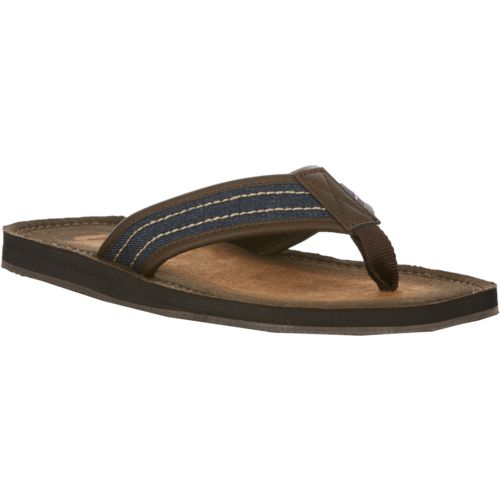 O'Rageous Men's Burnished Denim Flip-Flops - view number 2