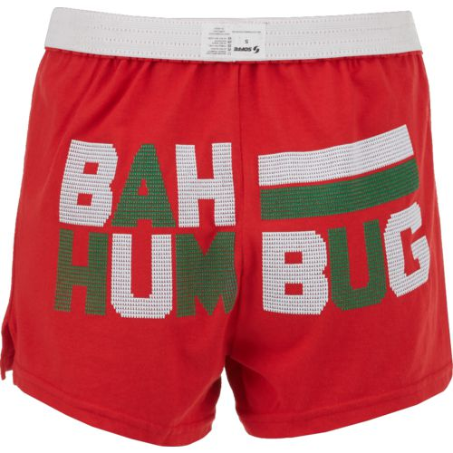Soffe Women's Bah Hum Bug Holiday Short