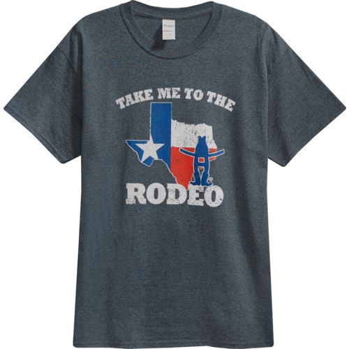 FireBrand Apparel Men's Take Me To The Rodeo Short Sleeve T-shirt - view number 4