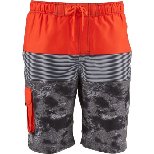O'Rageous Men's Floral Surf Printed Boardshorts