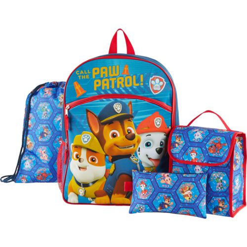 PAW Patrol Kids' 16 in Backpack with Lunch Kit