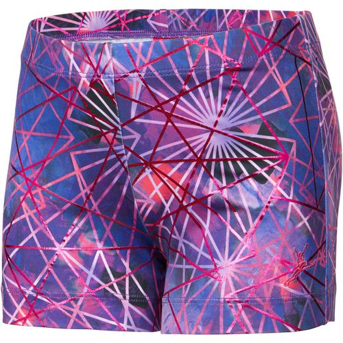 Capezio Girls' Future Star Electric Geometry Printed Short