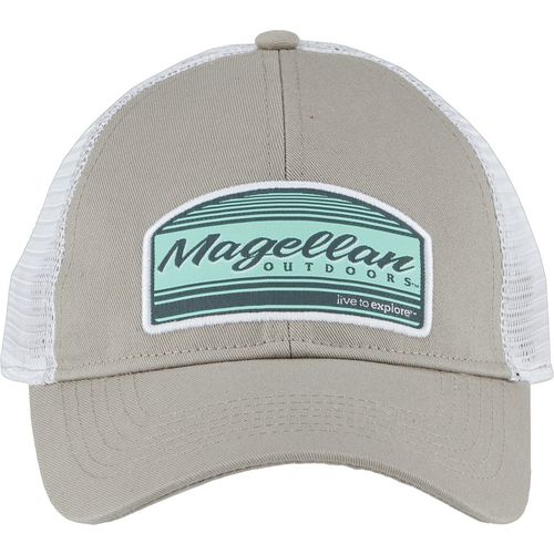 Magellan Outdoors Women's Live to Explore Patch Trucker Cap