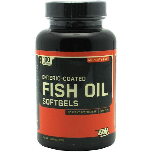 Optimum Nutrition Enteric Coated Fish Oil Softgels - view number 1