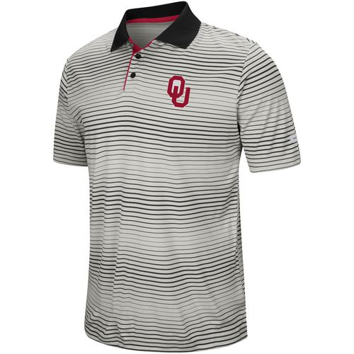 Colosseum Athletics Men's University of Oklahoma Lesson Number One Polo Shirt