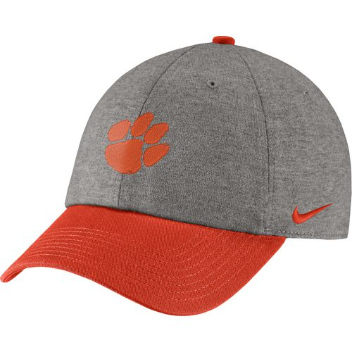 Nike Men's Clemson University COL Heritage86 Heather Cap