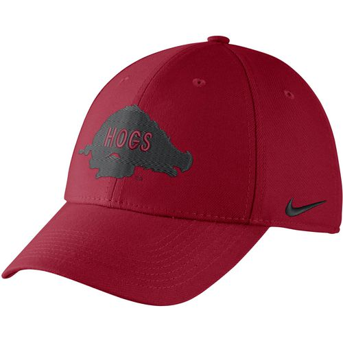 Nike Men's University of Arkansas Dri-FIT Wool Classic99 Swoosh Flex Cap