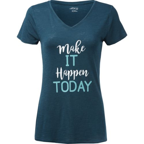 Display product reviews for BCG Women's Make It Happen Today T-shirt