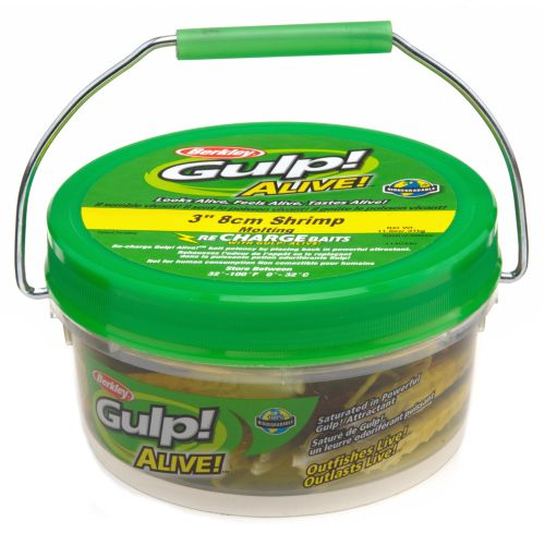 "Berkley® Gulp!® Alive!™ 3"" Shrimp Small Bucket"