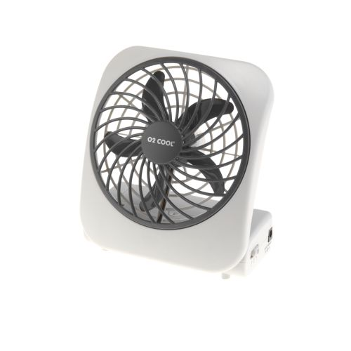 "Image for O2 COOL® 5"" Battery-Operated Fan from Academy"