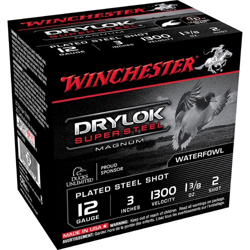 Winchester Super-X Drylok Waterfowl Load 12 Gauge Shotshells