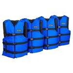 Onyx Outdoor Adults' General Purpose Boating Vests 4-Pack