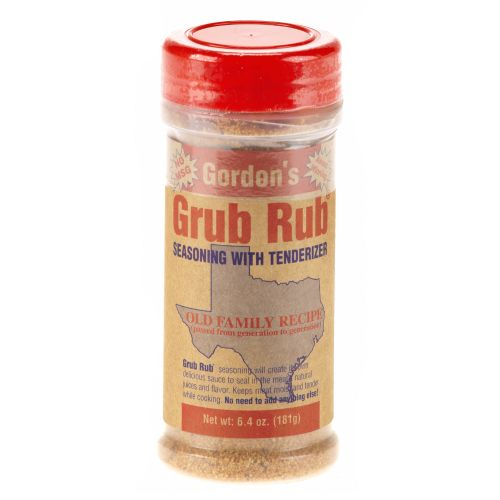 Display product reviews for Gordon's Grub Rub® Seasoning with Tenderizer