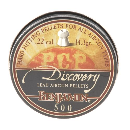 Benjamin® Discovery Hollow Point .22 Caliber 14.3-Grain Airgun Pellets 500-Pack - view number 2