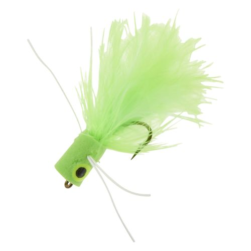 Superfly Panfish Popper 1 in Dry Flies 2-Pack
