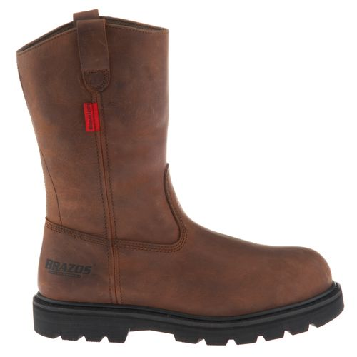 Display product reviews for Brazos Men's Derrick Wellington Work Boots