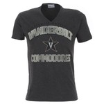 Majestic Adults' Vanderbilt University Section 101 V-neck T-shirt