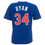 Majestic Adults' Texas Rangers Cooperstown Nolan Ryan #34 T-shirt