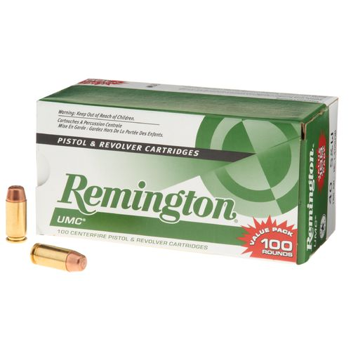 Remington .40 S&W 180-Grain Centerfire Ammunition