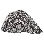 ZANHeadgear Adults' Black Paisley Pattern Welder's Cap - view number 1