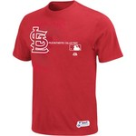 Majestic Men's St. Louis Cardinals Authentic Collection Property Of Short Sleeve T-shirt